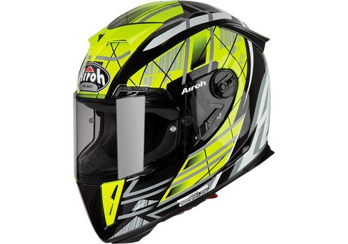 Airoh GP 500 Drift Yellow Gloss Helmet