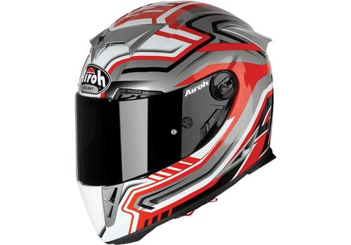 Airoh GP 500 Rival Red Gloss Helmet
