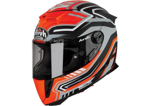 Airoh GP 500 Rival Orange Matt Helmet