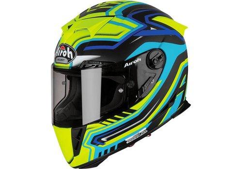 Airoh GP 500 Rival Blue Matt Helmet