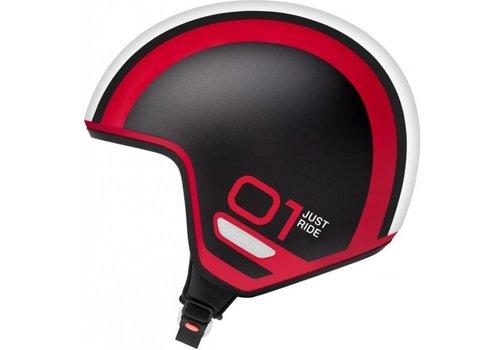 Schuberth O1 Inline Casco Negro Rojo