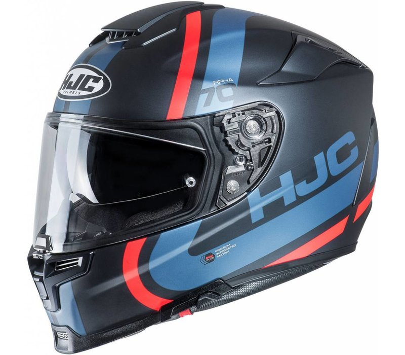 Buy HJC RPHA 70 Gaon Red Blue Helmet? Free Shipping!