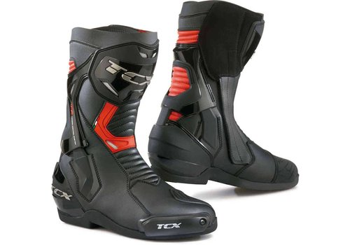TCX ST-FIGHTER Boots  Black Red