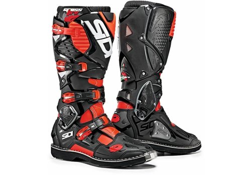 Sidi Crossfire 3 Boots Black Red Fluo