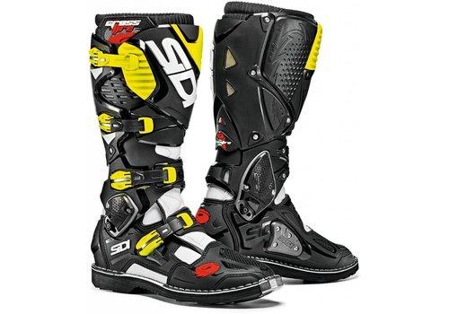 Sidi Crossfire 3 Boots Black Yellow Fluo