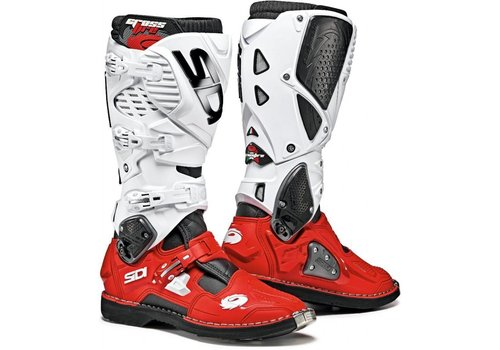 Sidi Crossfire 3 Boots Red White