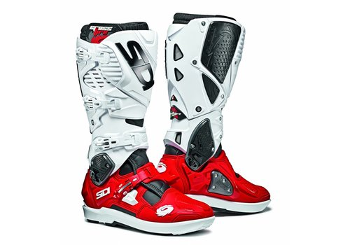 Sidi Crossfire 3 SRS Boots White Red