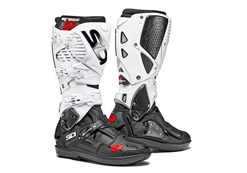 Sidi Crossfire 3 SRS Boots Black White