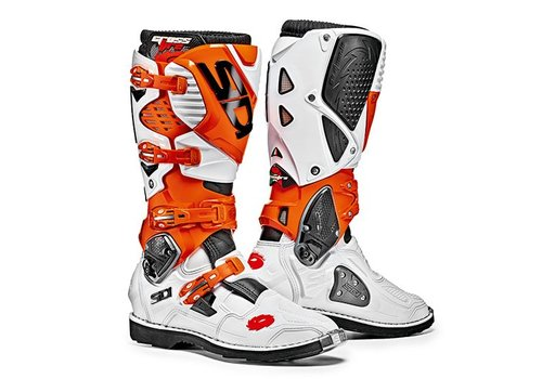 Sidi Crossfire 3 Stiefel Weiß Orange