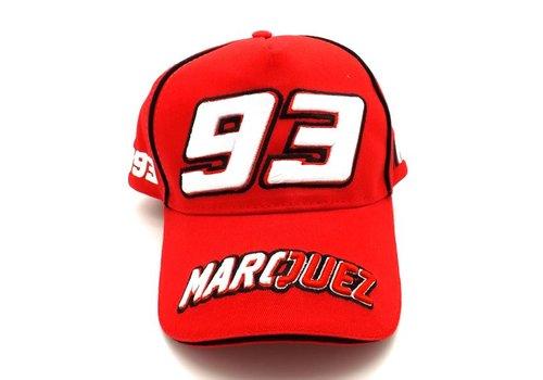 Marc Marquez cap 93 Red - MMMCA103307