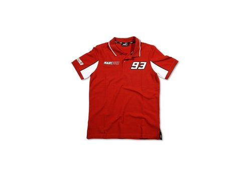 Marc Marquez 93 Polo rosso - MMMPO101607