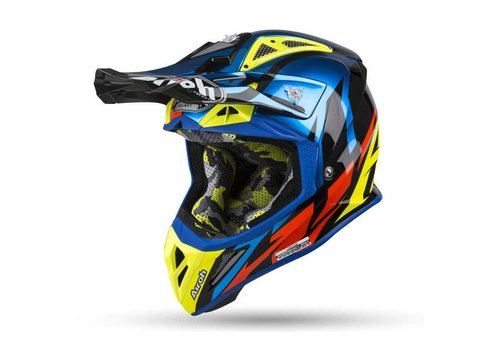 Airoh Aviator 2.3 AMSS GREAT Blue gloss Helm