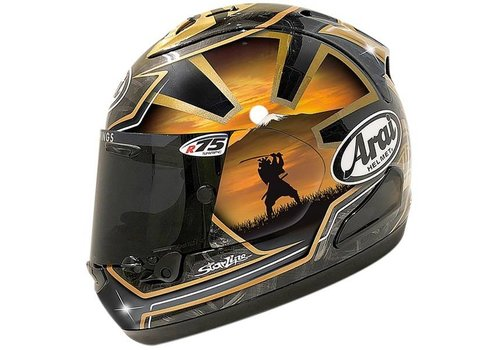 Arai RX-7V Pedrosa Spirit Helmet Gold