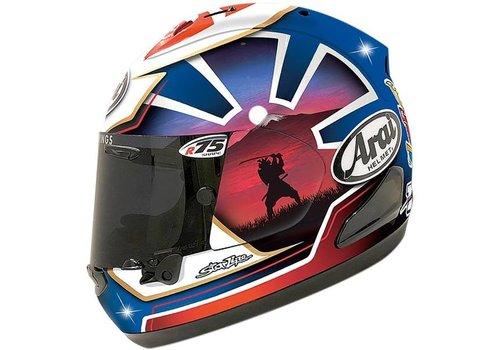 Arai RX-7V Pedrosa Spirit Helm Blau