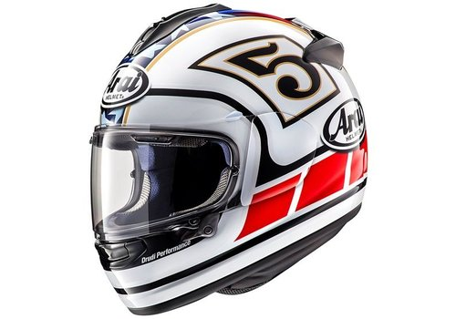 Arai Chaser-X Edwards legend Casco Bianco