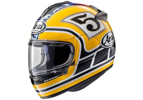 Arai Chaser-X Edwards legend Helmet Yellow