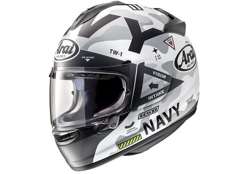 Arai Chaser-X Navy Helm Wit