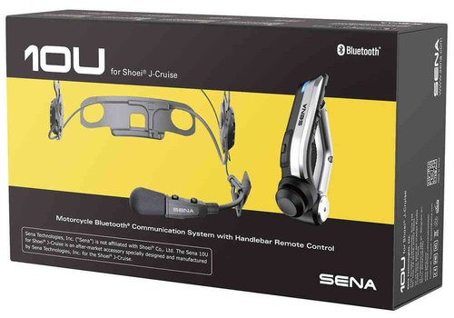 SENA 10U Communication System - Shoei J-Cruise