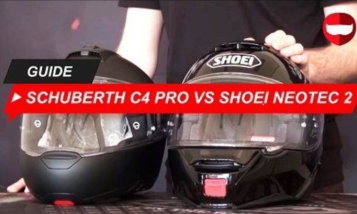 Schuberth C4 Pro vs Shoei Neotec 2