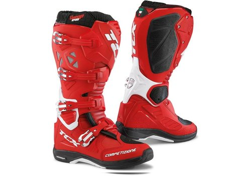 TCX Comp Evo 2 Michelin Boots Red White