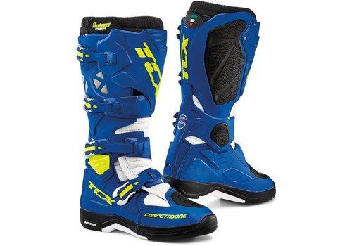 TCX Comp Evo 2 Michelin Boots Blue White