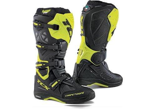 TCX Comp Evo 2 Michelin Boots Black Yellow Fluo