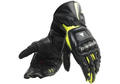 Dainese Steel-Pro Gloves Black Fluo Yellow