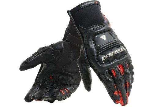Dainese Steel-Pro In handschoenen Zwart Fluo Rood