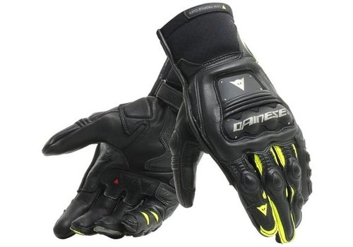 Dainese Steel-Pro In Gloves Black Fluo Yellow