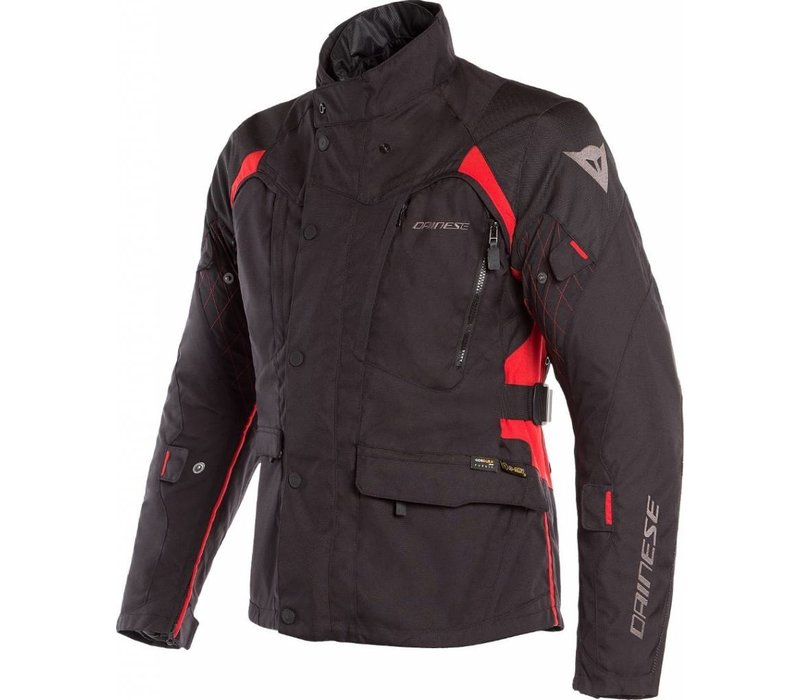 Buy Dainese X-Tourer D-Dry Jacket Black Red? Free Shipping!