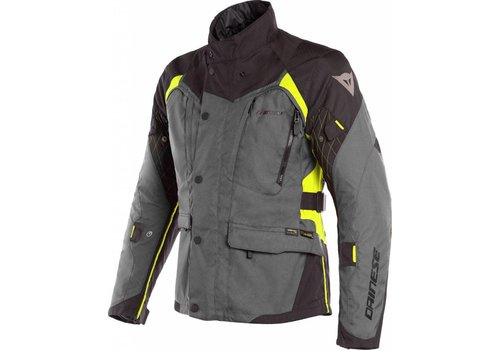 Dainese X-Tourer D-Dry Jacket Black Yellow Fluo