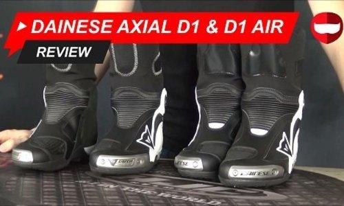 Dainese Axial D1 & D1 Air Review