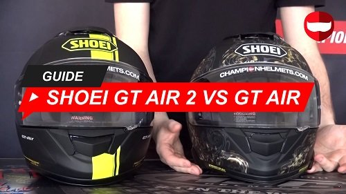 Comparing the Shoei GT Air 2 and Shoei GT Air
