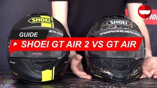 Comparing the Shoei GT Air 2 vs Shoei GT Air