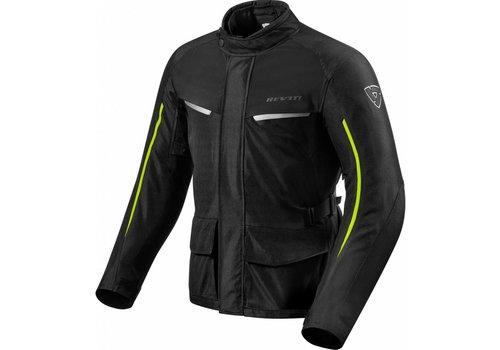 Revit Voltiac 2 Jacket Black Yellow Fluo