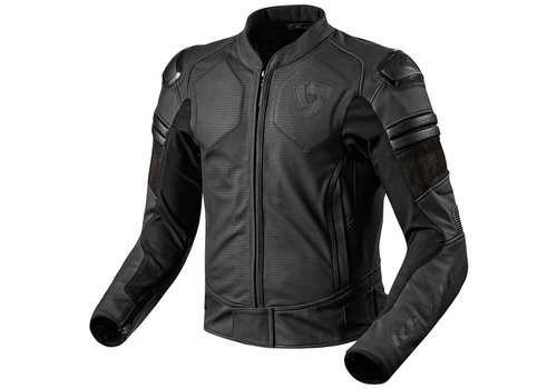Revit Akira Air Leather Jacket Black