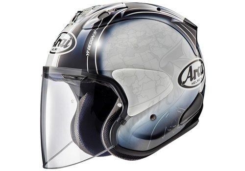 Arai SZ-R VAS Harada Tour Helmet White