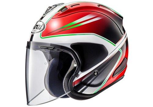 Arai SZ-R VAS Wedge Helmet Red