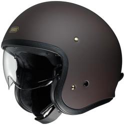 Shoei Buy Shoei J.O Helmet Matt Brown? Free Additional Visor!