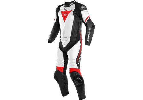 Dainese Laguna Seca 4 Двухсекционный мотоцикл костюм черный Белое