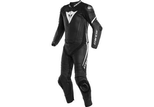Dainese Laguna Seca 4 Two Piece Leather Suit Black