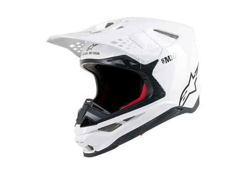 Alpinestars Supertech S-M10 Helm Wit
