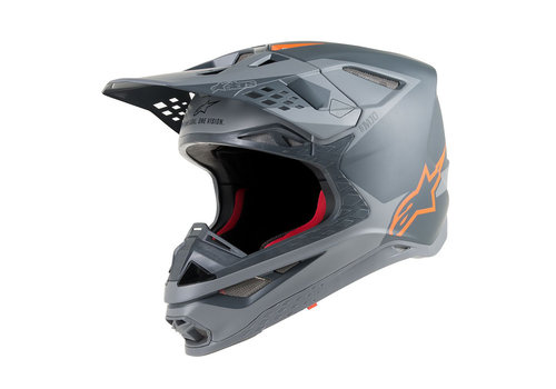 Alpinestars Supertech S-M10 Meta Helmet Black Orange