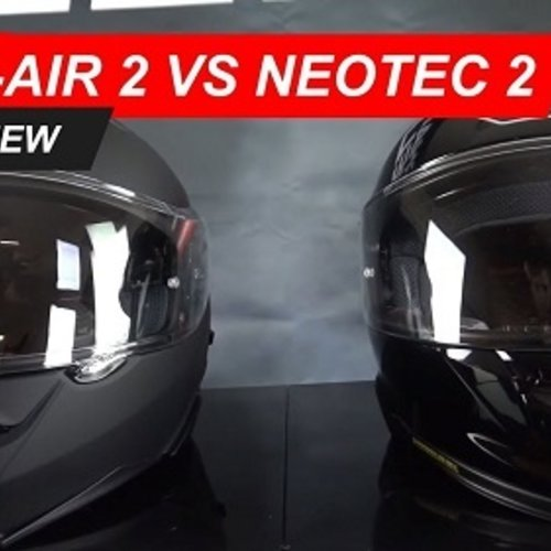 Comparing the Shoei GT Air 2 and the Shoei Neotec 2