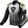 Revit Buy Revit Quantum Air Leather Jacket Black White? Free Shipping!