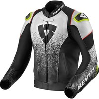 Buy Revit Quantum Air Leather Jacket Black White? Free Shipping!