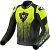 Revit Buy Revit Quantum Air Leather Jacket Black Fluo Yellow? Free Shipping!