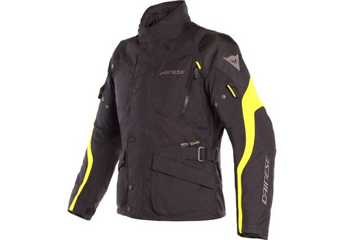 Dainese Tempest 2 D-Dry Jacket Black Yellow