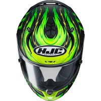 Buy HJC RPHA 11 Crutchlow Replica Helmet? Free Additional Visor!