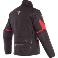 Dainese Tempest 2 D-Dry Jacket Black Red + 50% discount Extra Pants!